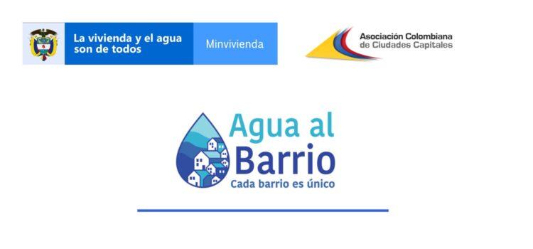 Evento Asocapitales del programa #AguaAlBarrio