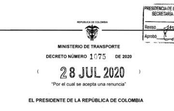 Decreto 1075 del 28 de julio de 2020
