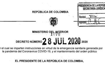 Decreto 1076 del 28 de julio de 2020