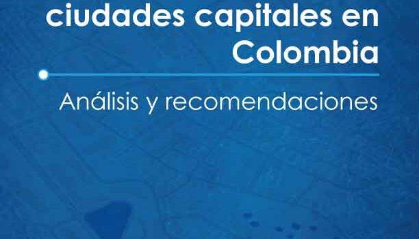 El litigio contra las ciudades capitales en Colombia análisis y recomendaciones