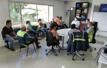 Alcalde de Mitú, lideró una reunión sobre las acciones que adelantan para prevención del contagio por Covid-19
