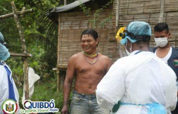 Alcaldía de Quibdó Realizó Jornada de Sensibilización en las Comunidades Indígenas frente al COVID-19