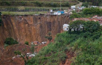 Tras recientes deslizamiento de grandes proporciones, al alcaldía de Pereira declara calamidad pública en Portal de la Villa