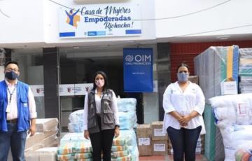 Alcaldía de Riohacha recibió donación de artículos de uso personal e higiene, proveniente de la Organización Internacional para las Migraciones (OIM)