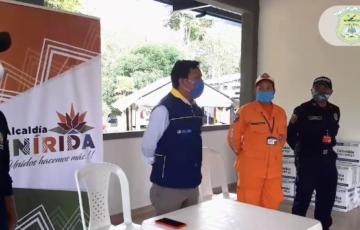 Alcaldía de Inírida sigue entregando ayudas del programa Adulto Mayor