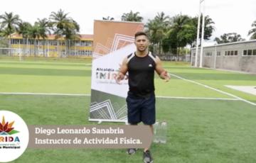 Alcaldía de Inírida genera iniciativa para realizar ejercicios desde casa de una forma segura y efectiva.