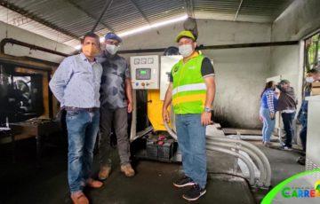Alcaldía de Puerto Carreño realizó la entrega de una planta de 250KVA