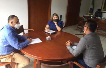 Alcaldesa (e) de Armenia se reunió con enlace del Ministerio del Deporte para Juegos Nacionales y Paranacionales