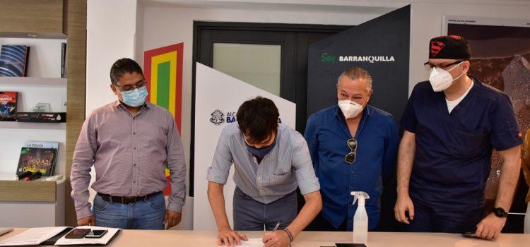 """Alerta hospitalaria bajó de naranja a amarilla, pero la ciudad sigue en alerta"": alcalde de Barranquilla"