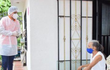 Alcaldía de Santa Marta inició acciones de atención integral a los Adultos Mayores del Distrito
