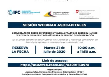 Sesión Webinar Asocapitales