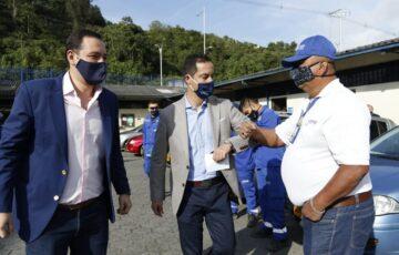Alcalde de Manizales presento al nuevo gerente de Agua de Manizales