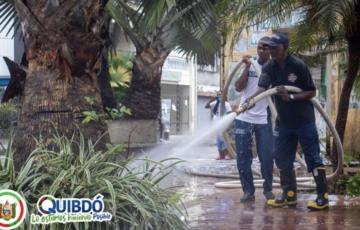 En tres frentes de trabajo, se realizaron, Jornadas de Limpieza, Embellecimiento y Sensibilización en la ciudad de Quibdó