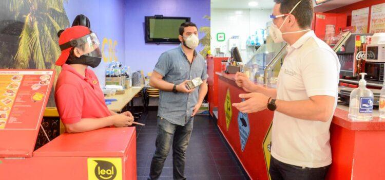 Alcaldía de Sincelejo supervisó protocolos de bioseguridad en restaurantes en próximos a reapertura
