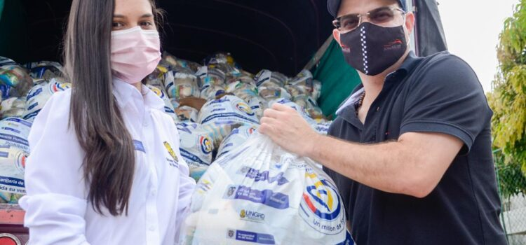 Llegan más ayudas humanitarias del Gobierno Nacional a Sincelejo