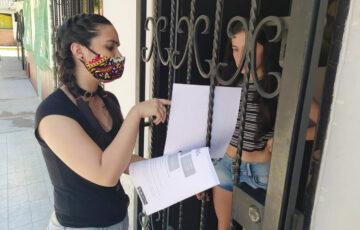 Taller de prevención de violencia intrafamiliar llega a la puerta de los hogares en Armenia