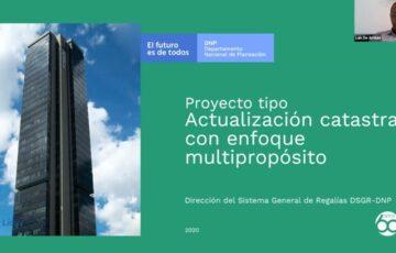 """DNP puso a disposición """"Proyecto tipo"""" para actualización catastral con enfoque multipropósito"""