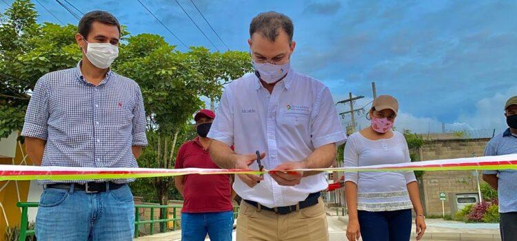 Inauguran la vía principal de la Universidad de Sucre en Sincelejo