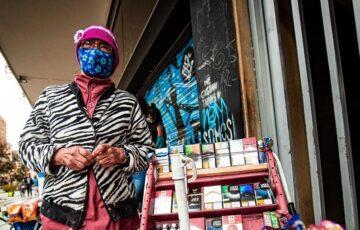 Vendedores informales de Bogotá deben seguir medidas de bioseguridad