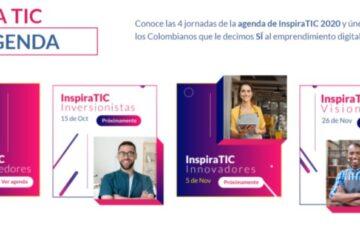 InspiraTIC 2020, un evento gratuito para emprendedores digitales