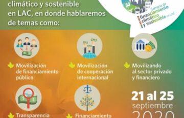 Semana de Financiamiento Climático y Sostenible en LAC, 2020