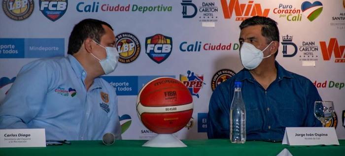 Cali Ciudad Deportiva lanzó el balón de la Liga Profesional de Baloncesto