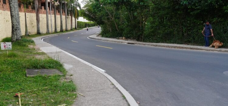 Alcaldía de Bucaramanga le cumplió al sector de Lagos del Cacique con la recuperación de la malla vial