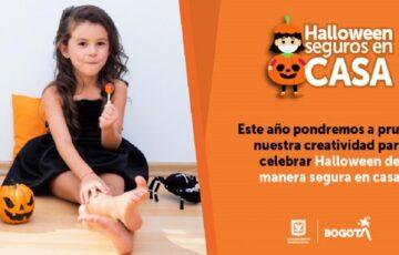 Bogotá se alista para celebrar un Halloween seguro en casa