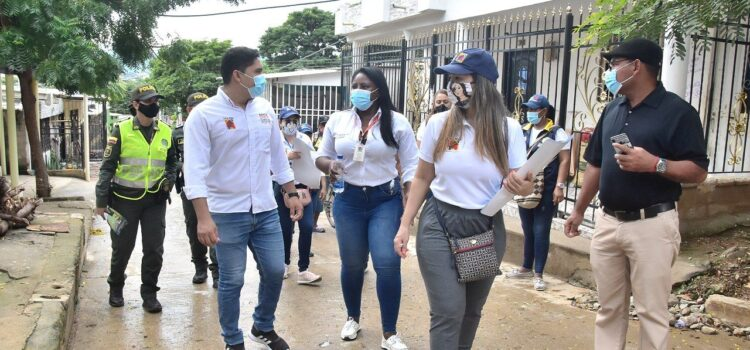 Alcaldía de Santa Marta hace presencia en el barrio San Jorge para evitar más feminicidios
