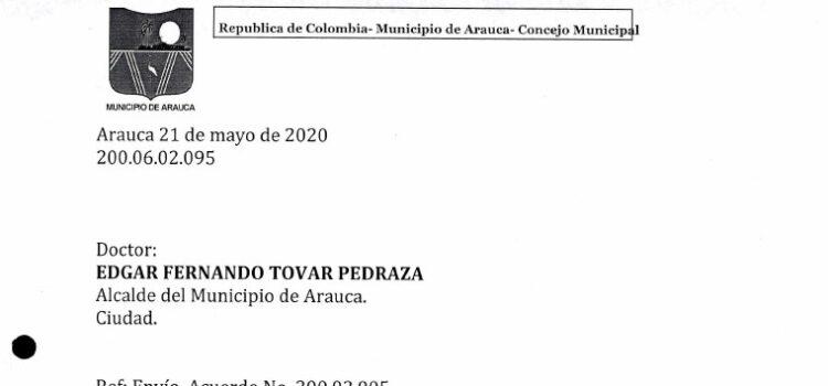 Arauca_Plan de Desarrollo Municipal_2020-2023