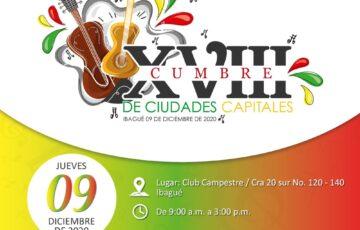 Comunicado de Prensa Gran Cumbre de Asocapitales en Ibagué