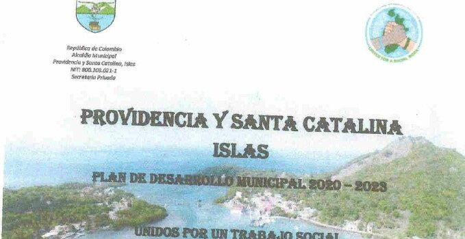 Providencia_Plan de Desarrollo Municipal_2020-2023