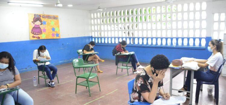 Más 7 mil estudiantes en Santa Marta realizan las pruebas Saber 11 A 2020