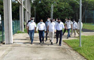 Alcalde dio al servicio la tercera fase del Complejo Deportivo Villa Amazónica para los florencianos