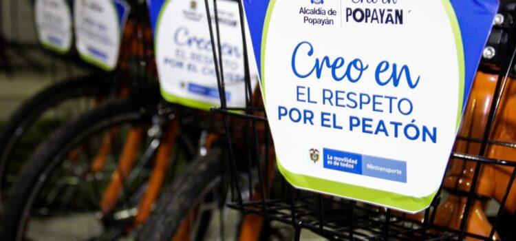 Popayán 'pedalea' para ser la capital de la bicicleta
