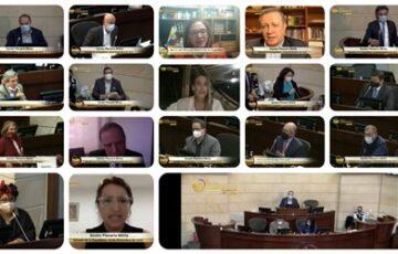 """En sesiones extras, Congreso de la República aprueba la conciliación de la """"reforma al código electoral"""""""