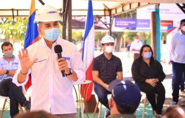 Alcalde de Valledupar y Ministro de Vivienda dan inicio a proyecto de Mejoramiento Integral de Barrios Sector Comuna Tres