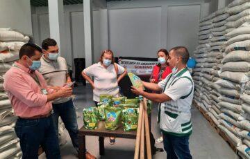 Florencia fortalece programa de seguridad alimentaria e incentiva la creación de huertas caseras