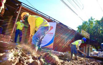 350 huecos intervenidos en la rehabilitación de la malla vial de Valledupar