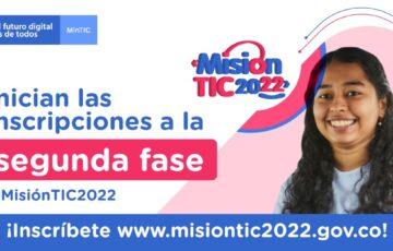 Alcaldía de Mocoa invita a jóvenes a inscribirse a la segunda fase #MisionTIC2022