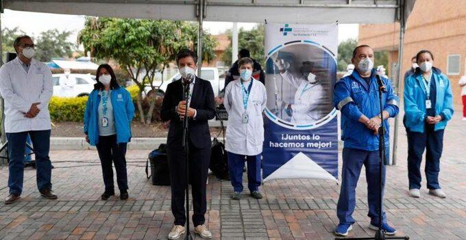 Bogotá adelantó con éxito el primer simulacro de vacunación contra el COVID-19