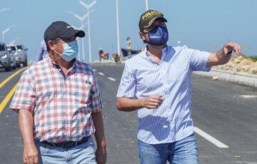 """""""En pocas semanas Barranquilla contará con 2 kilómetros más de Malecón"""": Pumarejo"""