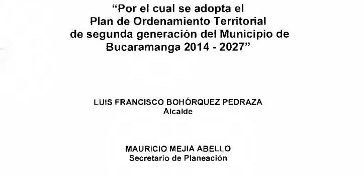 Bucaramanga_Acuerdo11_POT_2014