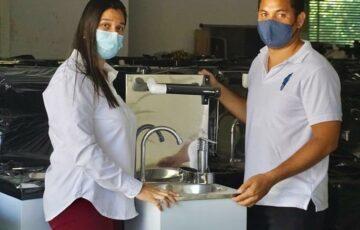 Colegios oficiales de Sincelejo reciben elementos de bioseguridad