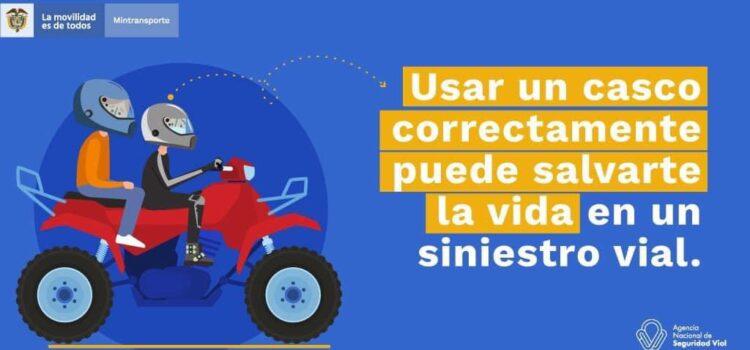 Desde el 23 de enero, nueva reglamentación para uso de casco protector a motociclistas
