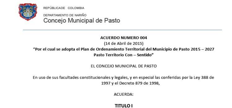 Pasto_Acuerdo004_POT_2015
