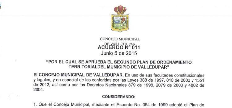 Valledupar_Acuerdo011_POT_2015