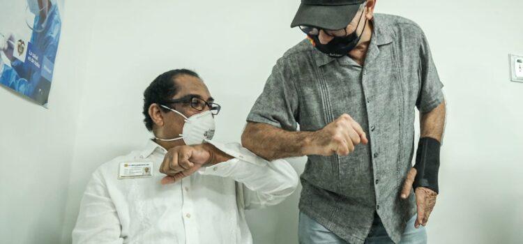 Comenzó vacunación contra la COVID -19 en Cartagena