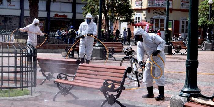 """Con campaña """"Espacios Públicos Libres Para la Vida"""", alcaldía de Pasto continúa jornadas de limpieza y desinfección"""