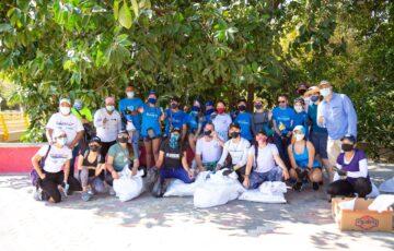 """Santa Marta realiza jornada de """"plogging"""" para limpiar la ciudad"""